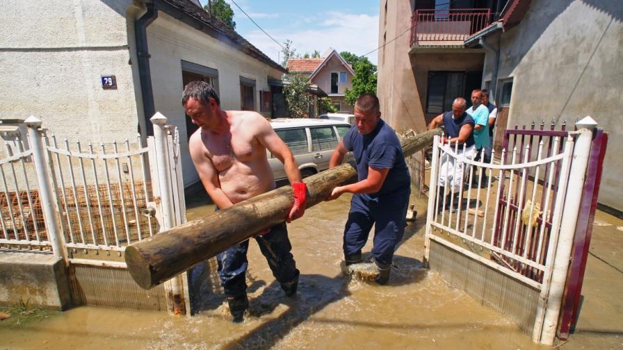 Няма опасност от нови наводнения в Сърбия