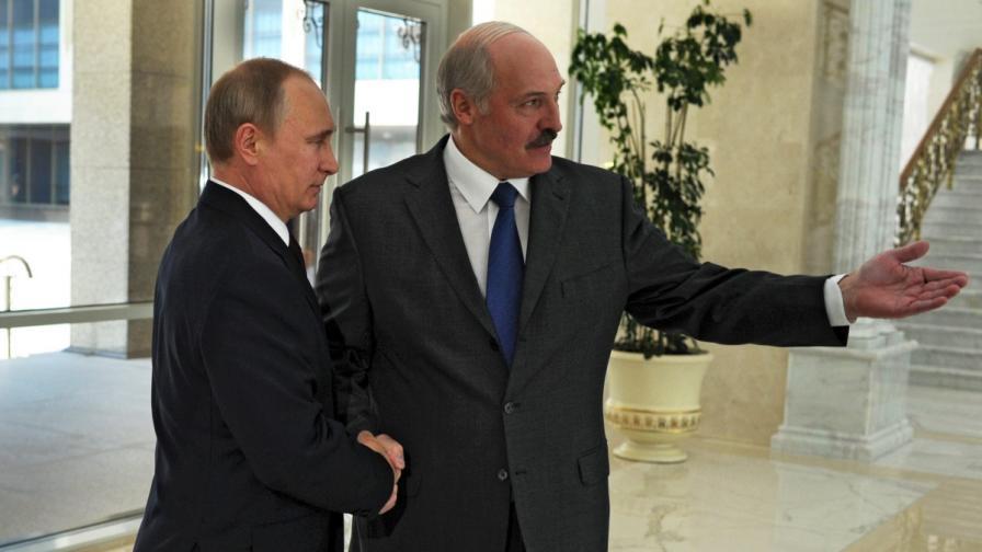 Президентите на Русия и Беларус – Владимир Путин и Александър Лукашенко