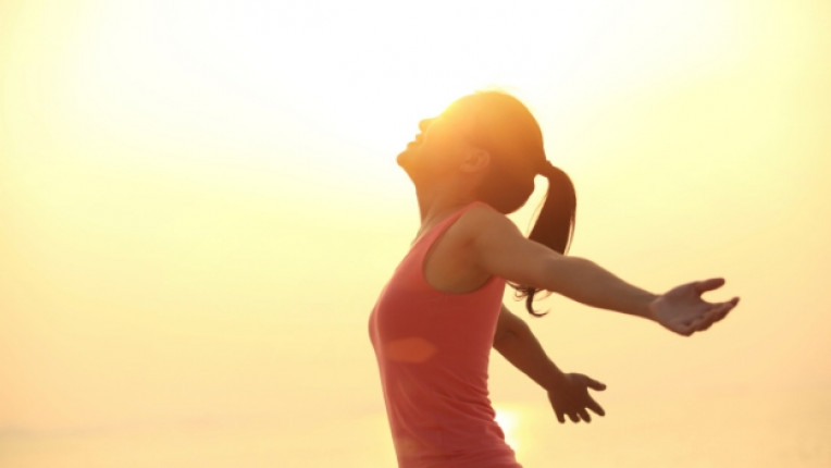 хармония жена щастие слънце
