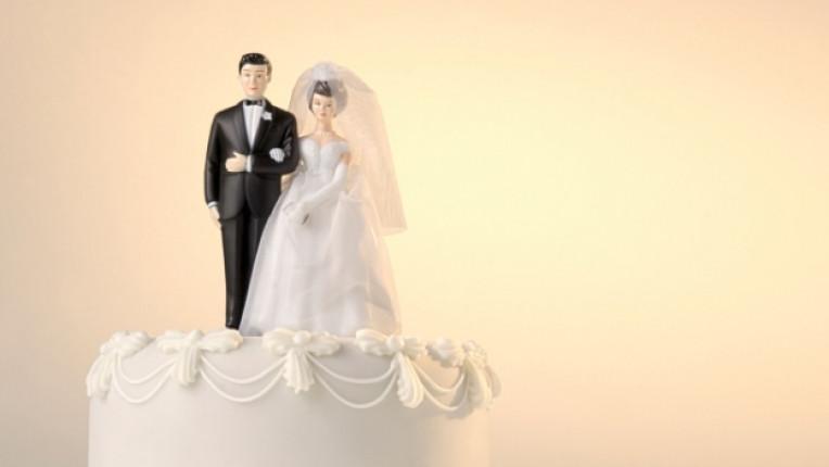 брак сватба булка младоженец