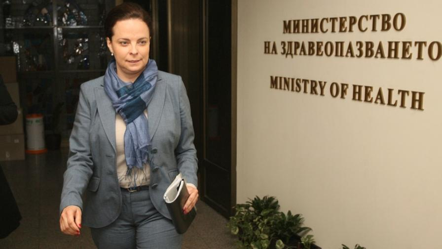 Министърът на здравеопазването Таня Андреева