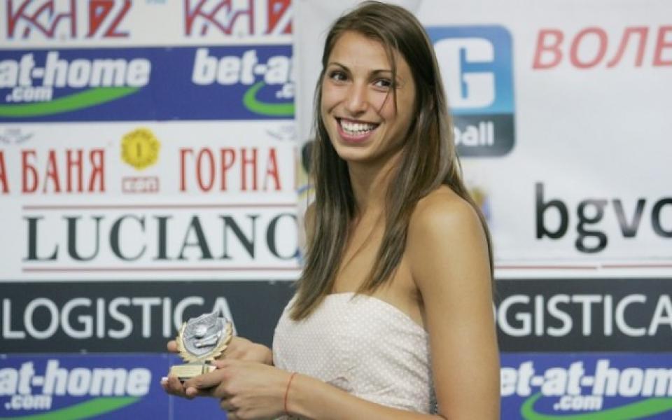 Василева: Прекрасно ще е да играя за толкова силен отбор