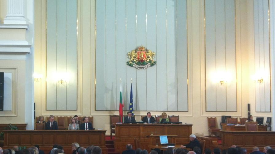 Депутатите одобриха 1,5 млрд. евро нов дълг