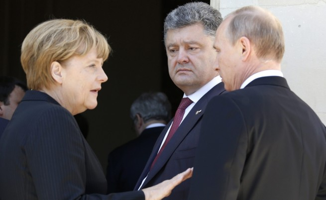 Путин и Порошенко се срещат в Минск