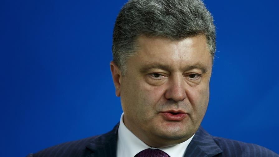 Порошенко положи клетва като президент на Украйна