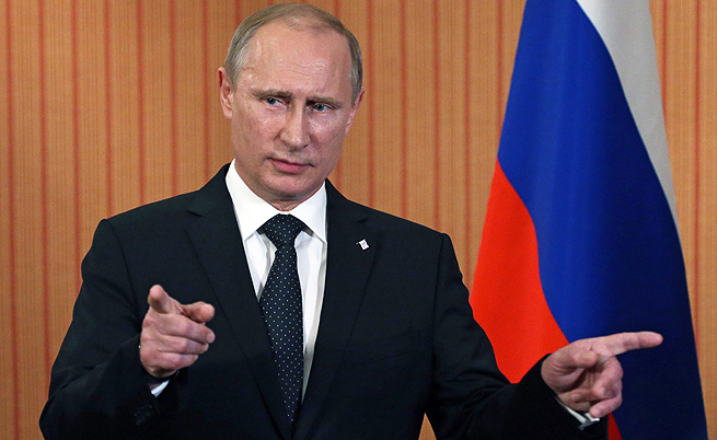 Путин поиска мерки в отговор на западните санкции