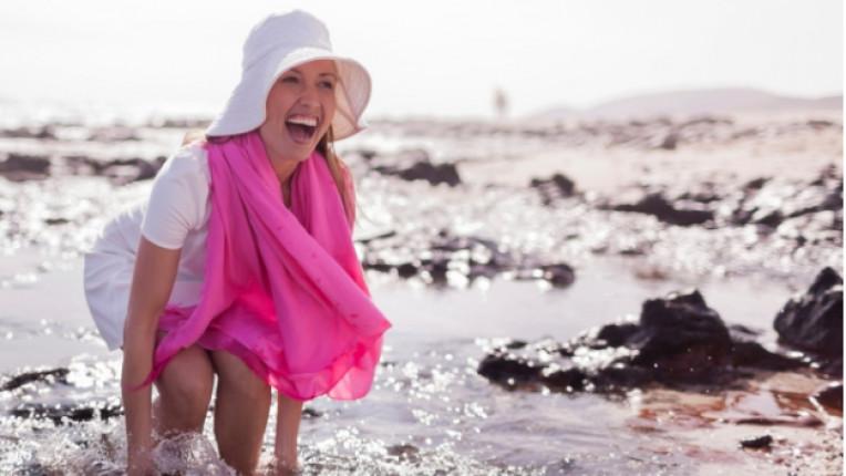 лято розово спорт море