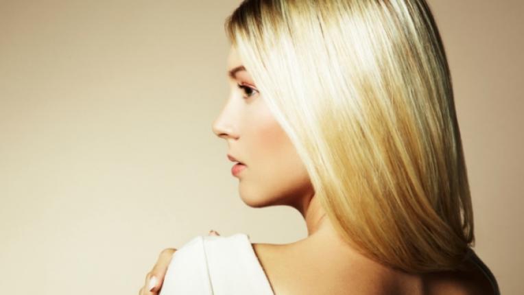 руса коса блондинка