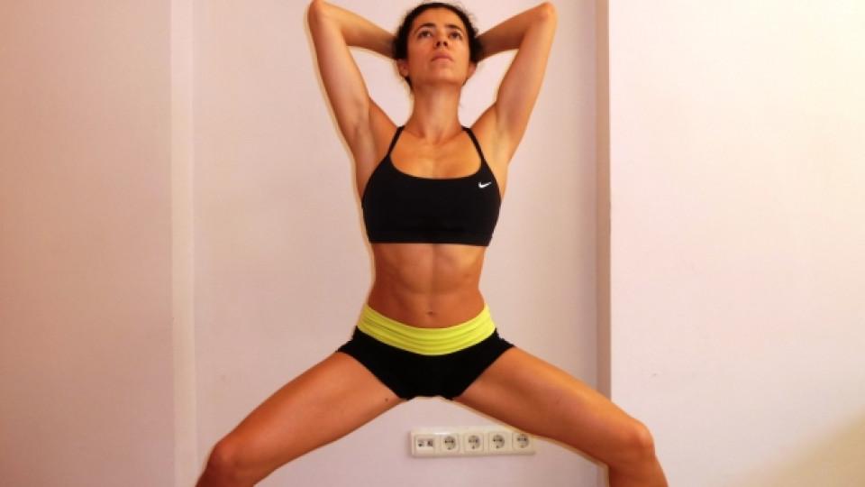 Ефективни упражнения за стягане на бедрата