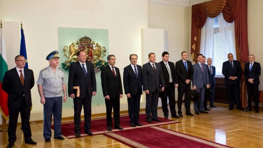 Участниците в Консултативния съвет по национална сигурност