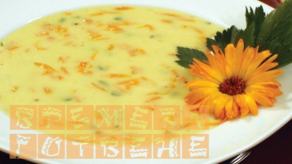 Супа със сирене