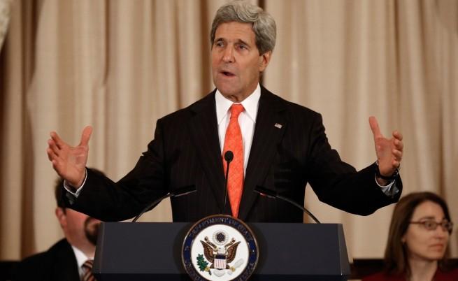 Джон Кери пристигна в Багдад заради ИДИЛ