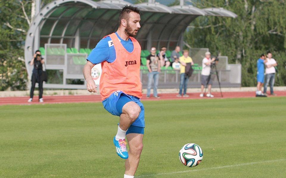 Радослав Димитров се превърна в герой за своя отбор Сепси