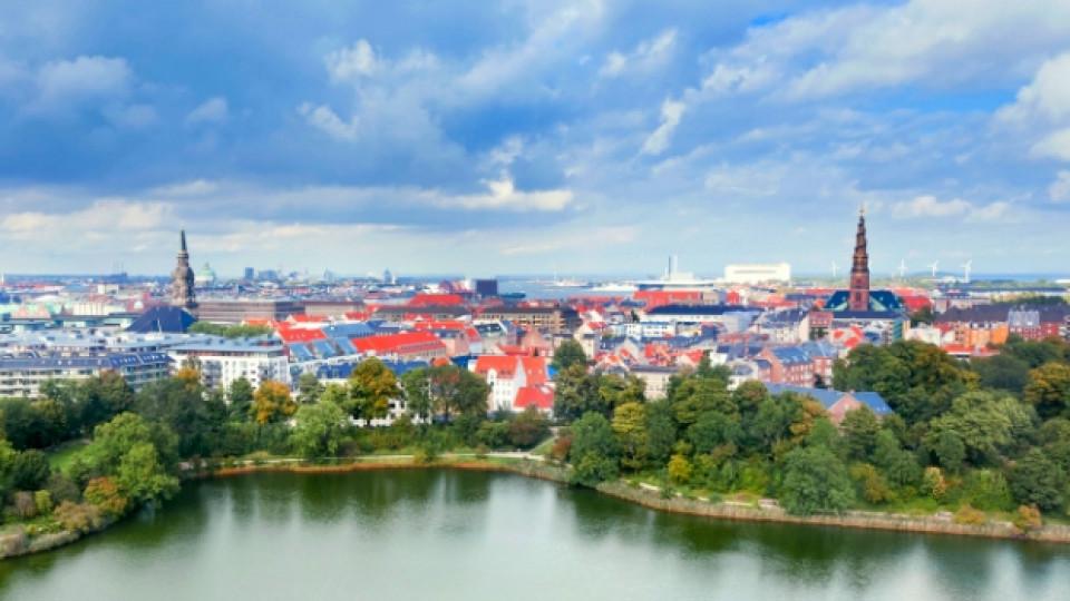 Изглед от Копенхаген, Дания