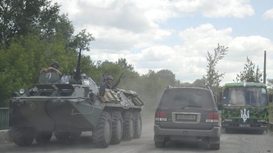 Първи жертви в Украйна след края на примирието