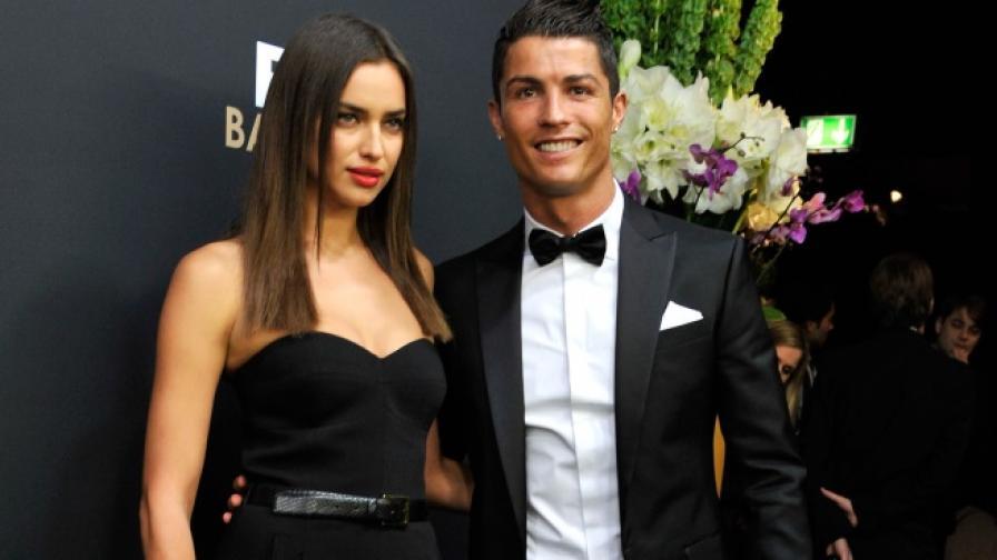 Официално: Кристиано Роналдо и Ирина Шейк се разделиха