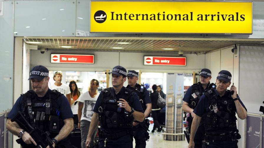 """Лондонското летище """"Хийтроу"""""""