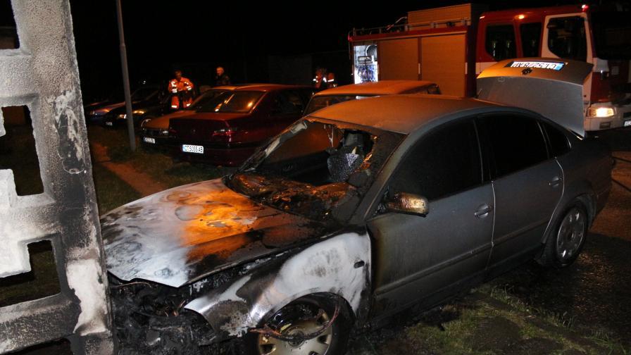 """Запалиха колата на бивш шеф на """"Алианц банк"""" в Казанлък"""