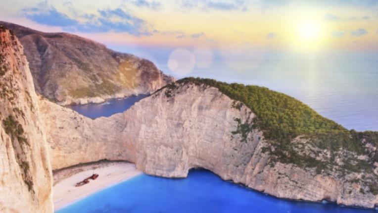 гърция море плаж