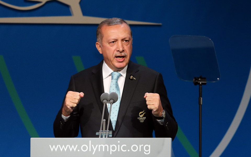 Ердоган обвини УЕФА в дискриминация