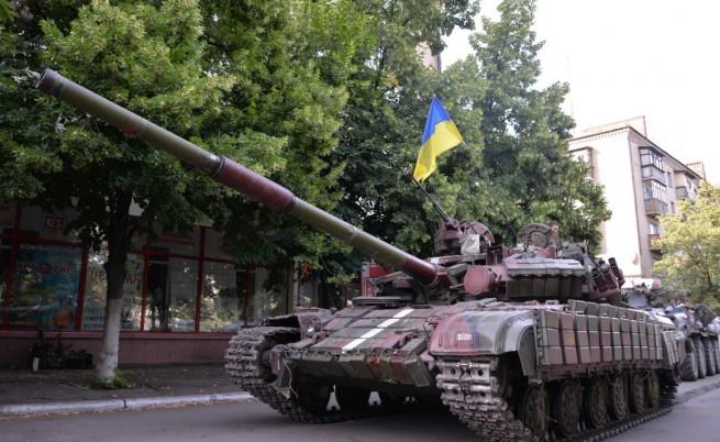 Улиците на Донецк опустяха след предупреждение на властта