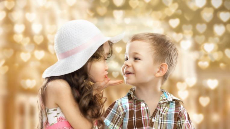 целувка любов