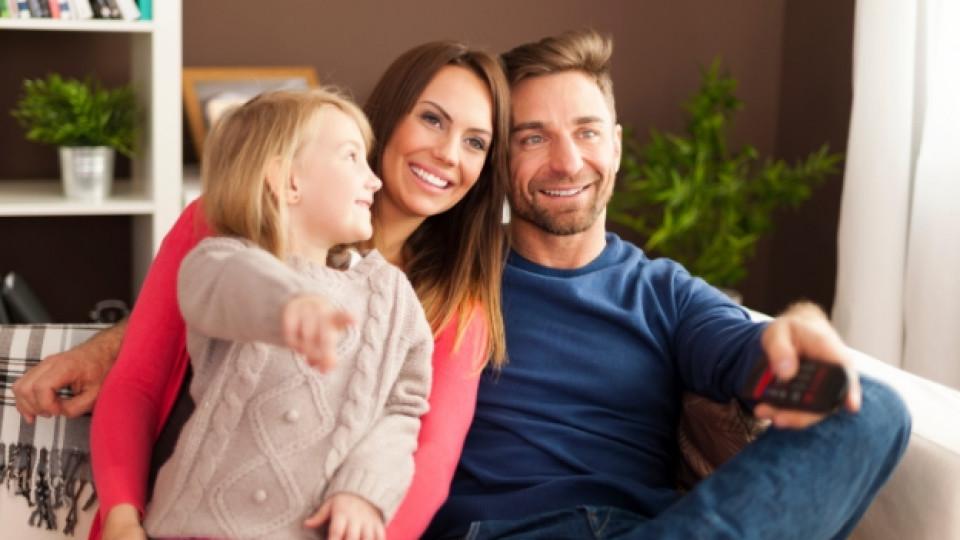 Семейство пред екрана