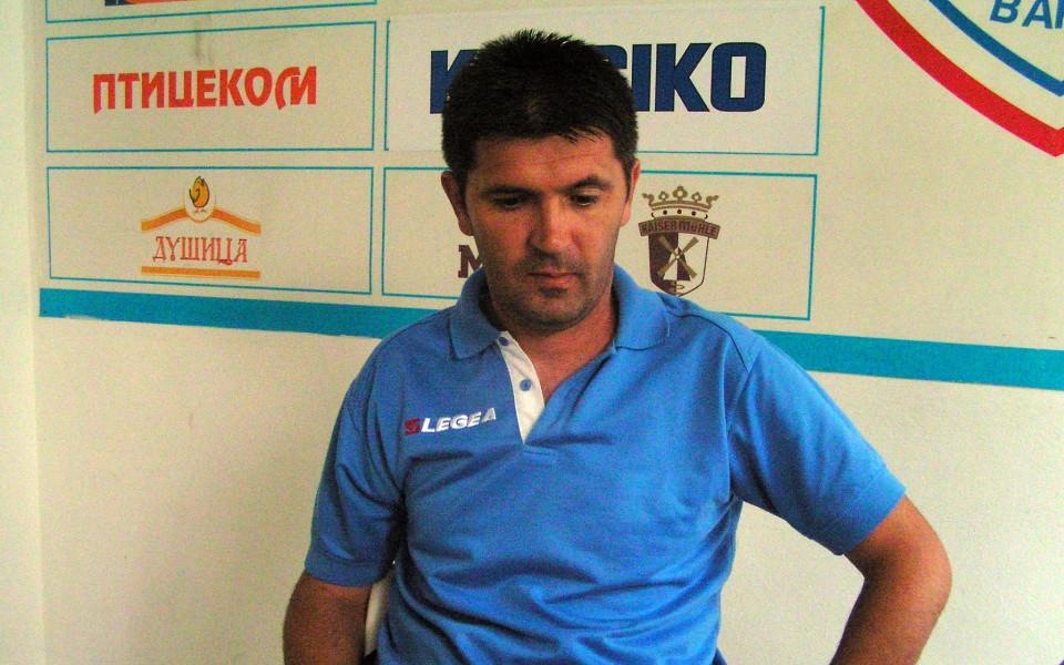 Ангел Стойков: Целта на ФК Бургас е да се утвърди в професионалния футбол