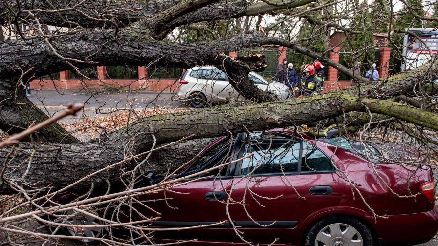 Силни бури връхлетяха Полша