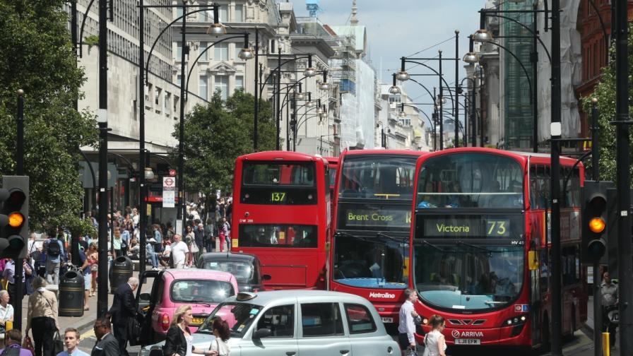 Откриха коя е улицата с най-мръсен въздух в света