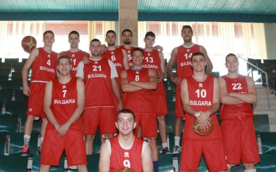 Пета загуба за баскетболните национали до 20 г. в Гърция