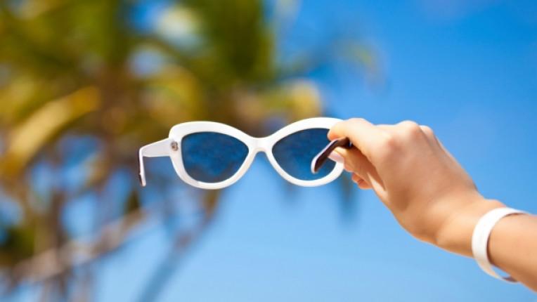 слънце грижа кожа очила предпазване защита лято плаж