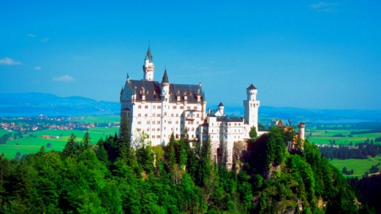 замък германия бавария