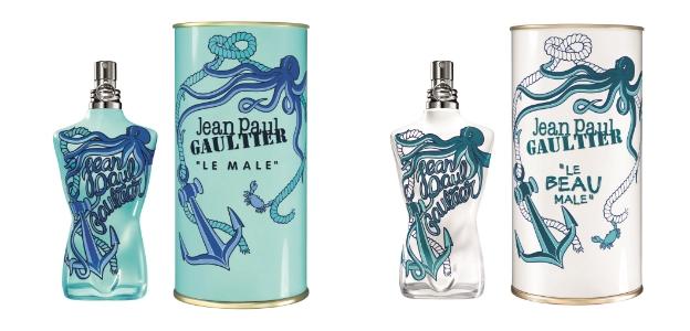 Лимитираните летни издания са отзвук от модната колекция пролет/лято на Жан-Пол Готие