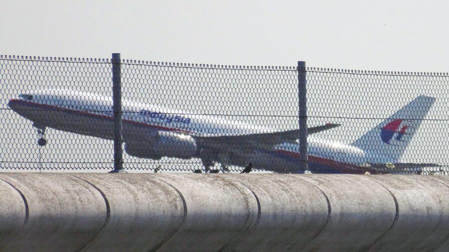 Полет MH17 по време на излитането си днес от Амстердам