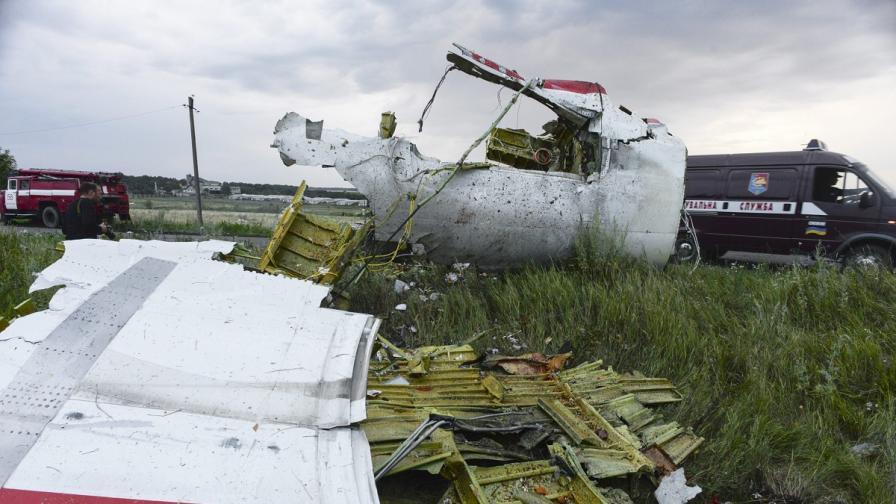 Украйна, самолет MH17