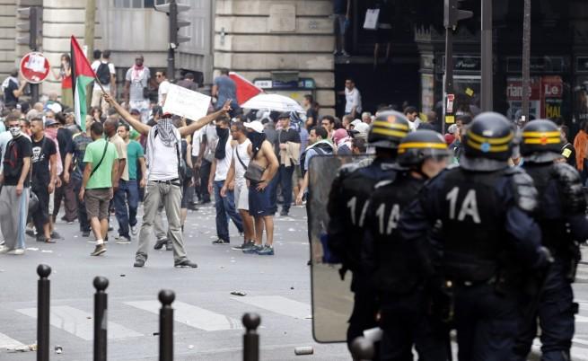 Протести в Париж и Лондон срещу офанзивата в Газа