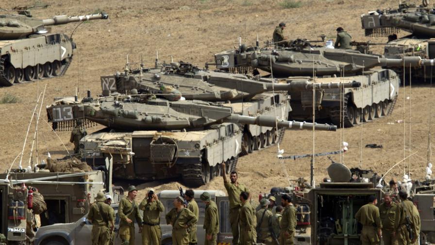 Израел се съгласи на двучасово хуманитарно примирие в Газа