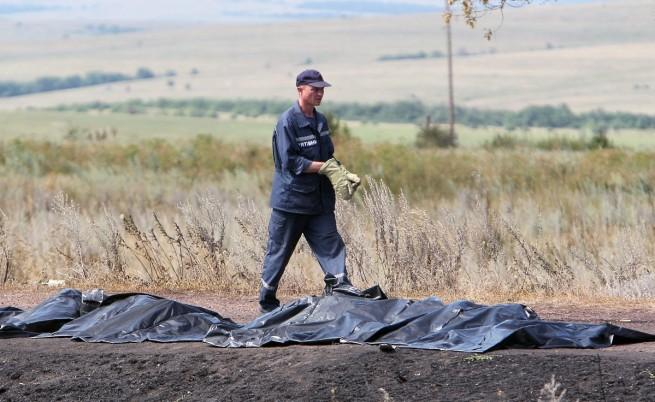 Сепаратистите допуснаха чужди експерти до телата от катастрофата