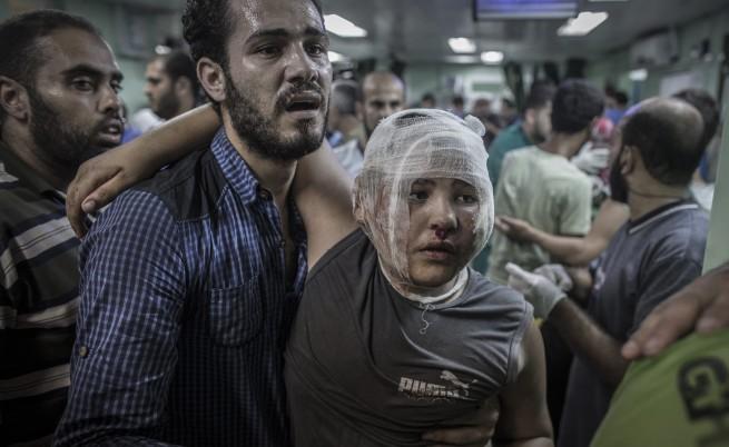 15 загинаха при израелски удар по училище в Газа