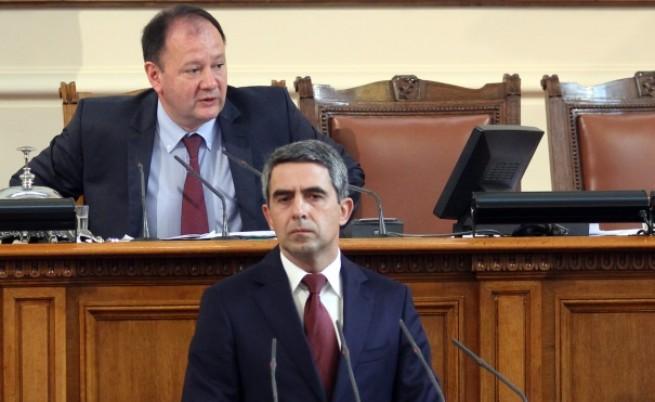 Плевнелиев в НС: Да отворим досиетата на КТБ