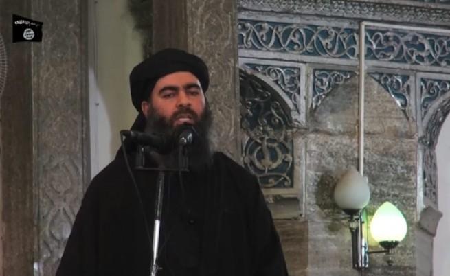 """Лидерът на """"Ислямска държава"""" Абу Бакр ал-Багдади"""