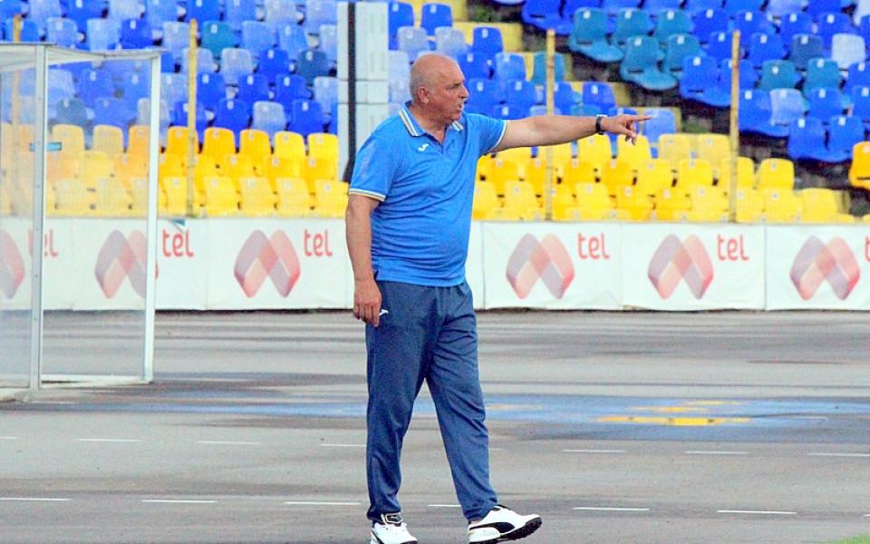 Треньорът на Левски недоволен от първото полувреме срещу ЦСКА