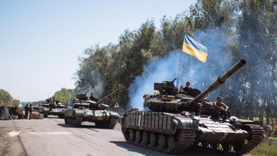 Унищожена ли е руска военна колона от Украйна или не?