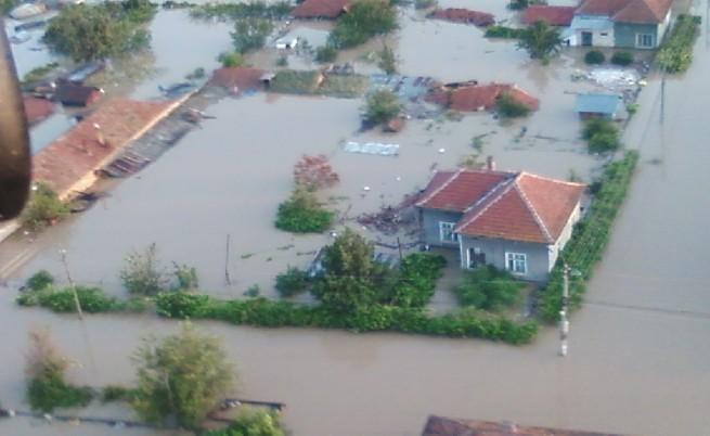 Зоните с риск от наводнение ще бъдат включени в карта