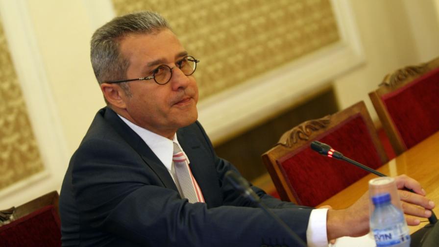 Председателят на парламентарната бюджетна комисия Йордан Цонев