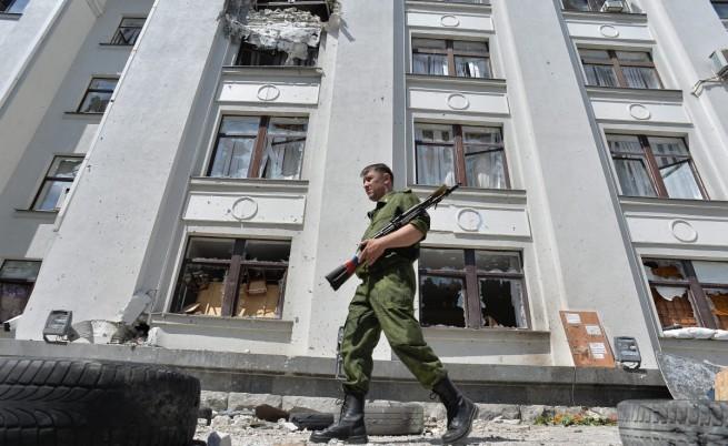 Луганск бил в състояние на хуманитарна катастрофа