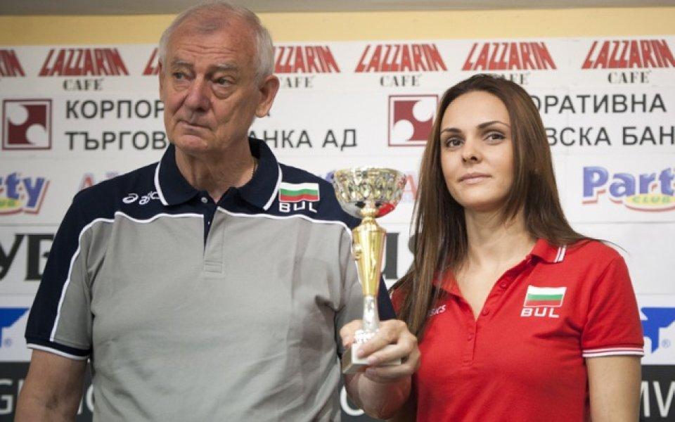 Бивш национален селекционер ще стиска палци на Марица в Екатеринбург