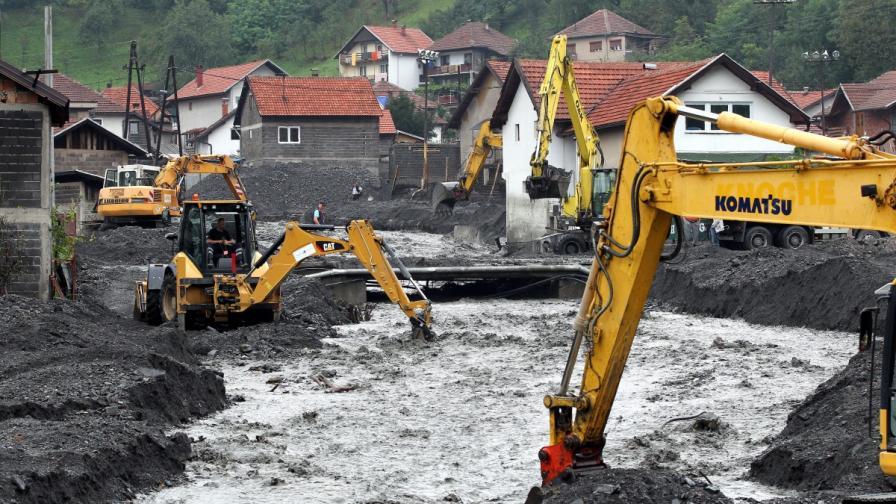 Огромни щети в Босна и Херцеговина след новите наводненията