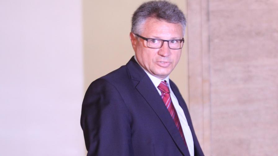 Военният министър Велизар Шаламанов